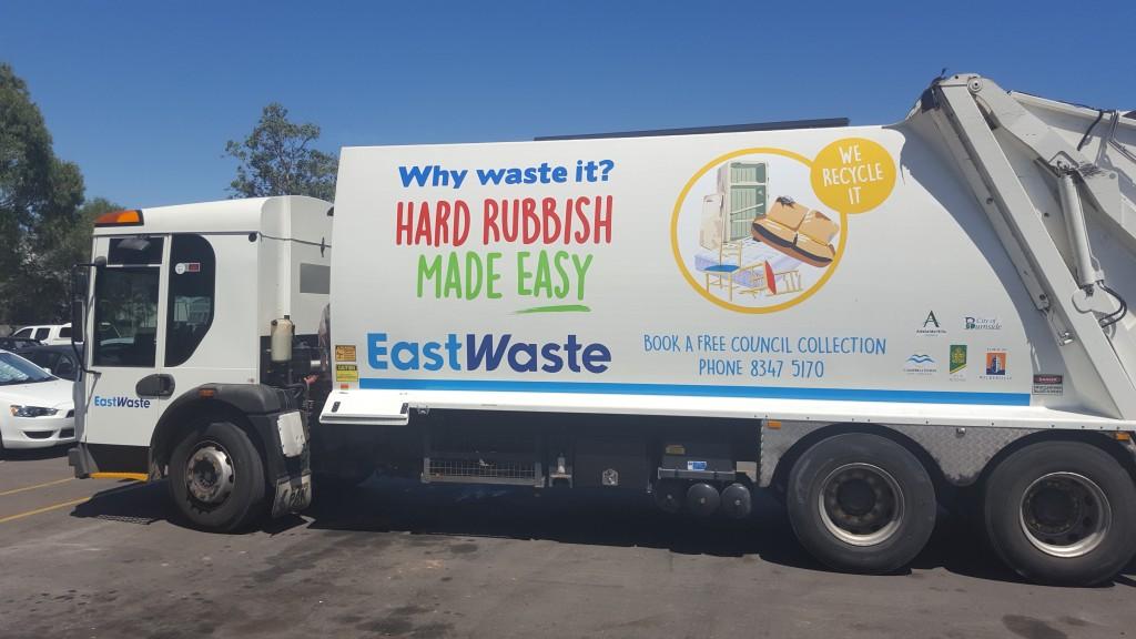 Hard Waste Truck